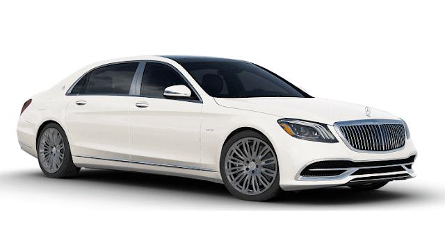 Mercedes-Benz Maybach white