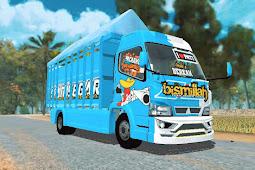 Livery ISP Ikan Segar Pati ES Truck Simulator ID