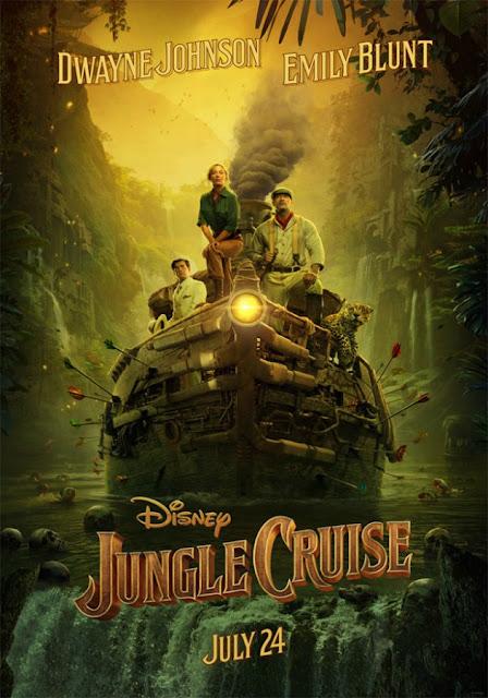 Jungle Cruise Poster Disney