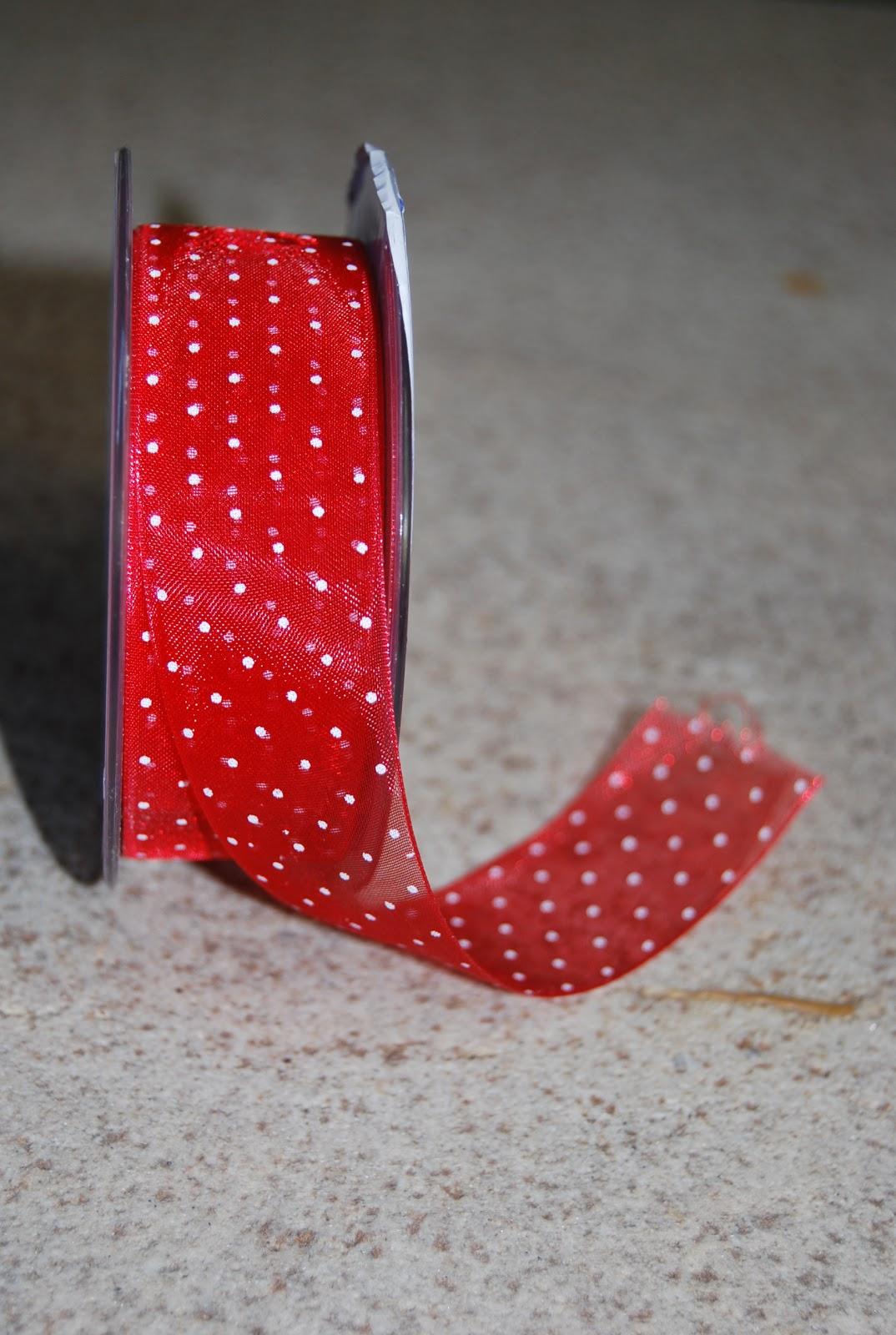 Delipapel lazos rojos navide os - Lazos para arbol de navidad ...