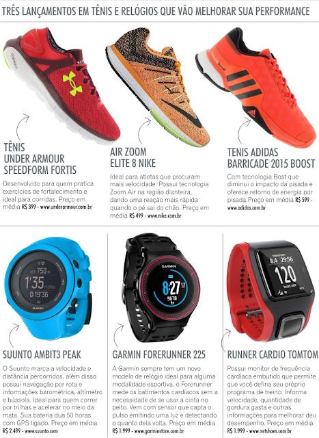 1249303a7ba O primeiro requisito para um tênis de corrida é ter um ajuste confortável e  bem almofadadas. Tênis com amortecedores e que permitam os pés transpirarem  ...
