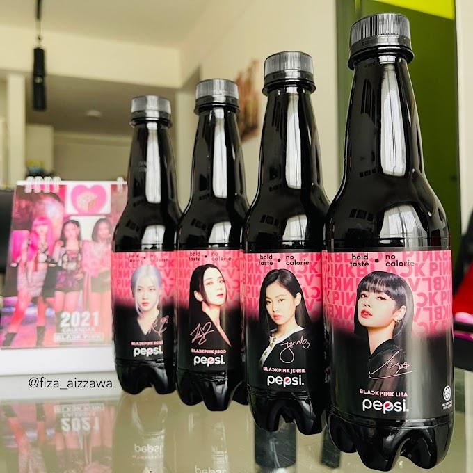Pepsi X BLACKPINK edisi terhad now in your area