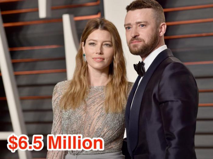 17-Justin Timberlake and Jessica Biel