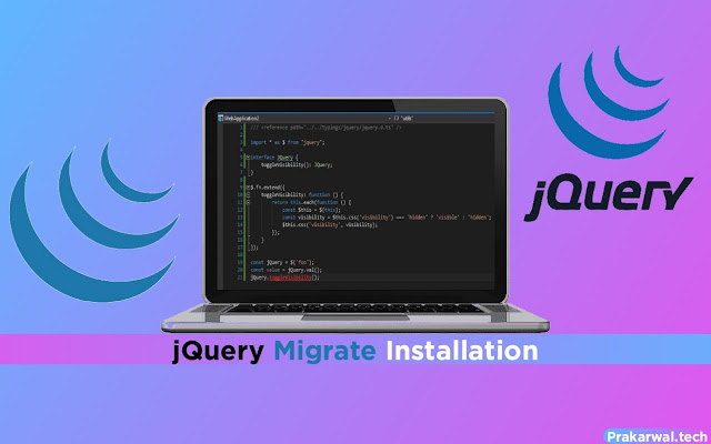 jQuery Migrate Installation