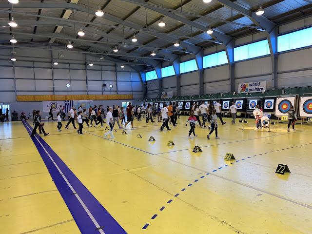 2.250 αθλητές στο κλειστό γυμναστήριο της Αγίας Τριάδας για τους Πανελλήνιους αγώνες τοξοβολίας