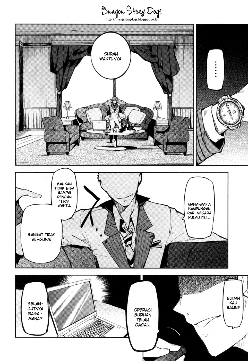 Bungou Stray Dogs Chapter 12-52