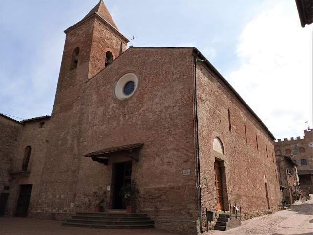 chiesa jacopo e filippo a certaldo alto