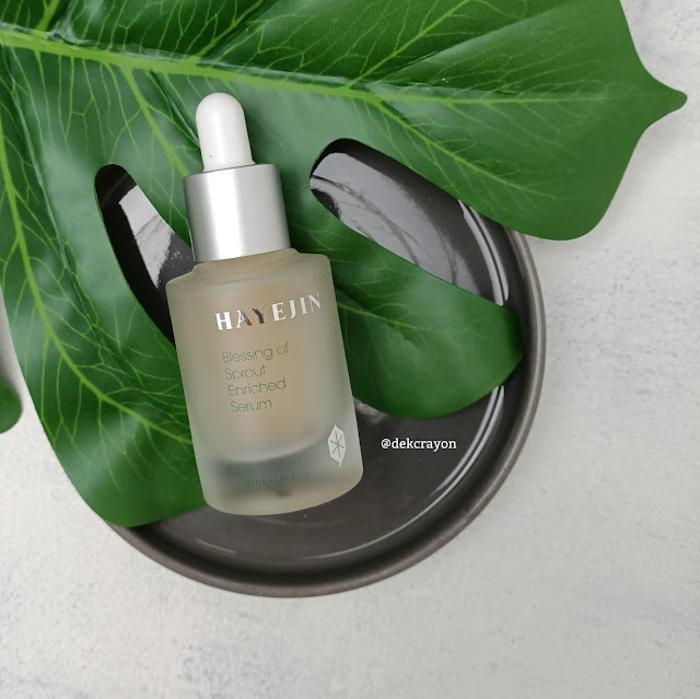 review hayejin blessing of sprout enriched serum
