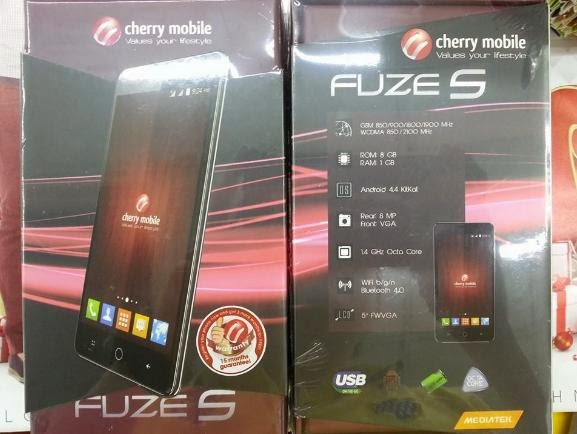 Cherry Mobile Fuze S, Octa Core with 4000mAh Battery Now Available for Php4,499
