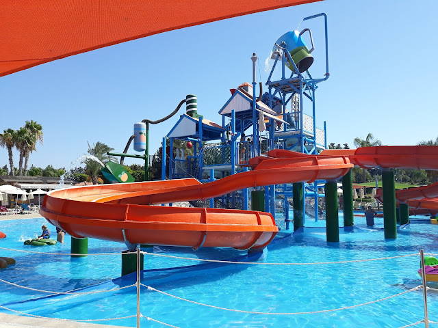waterpark play area