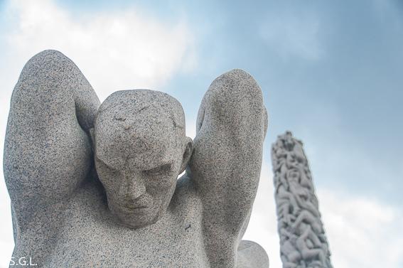 Parque de las esculturas de Vigelan en Oslo