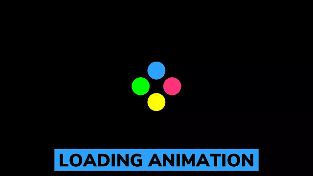 Loading Animation For Website using HTML & CSS