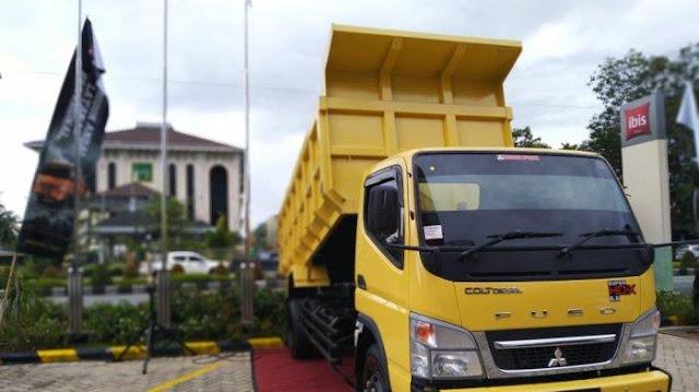 harga dump truk mitsubishi canter 2020, harga dump truck colt diesel 2020