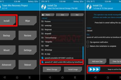 Cara Pasang Xposed Pada Redmi Note 3