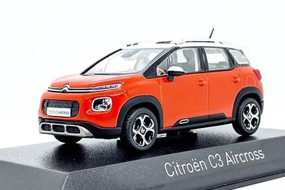 all new citroen c3 aircross leaked through scale model carscoops. Black Bedroom Furniture Sets. Home Design Ideas