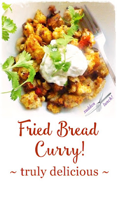 curried bread pinterest image