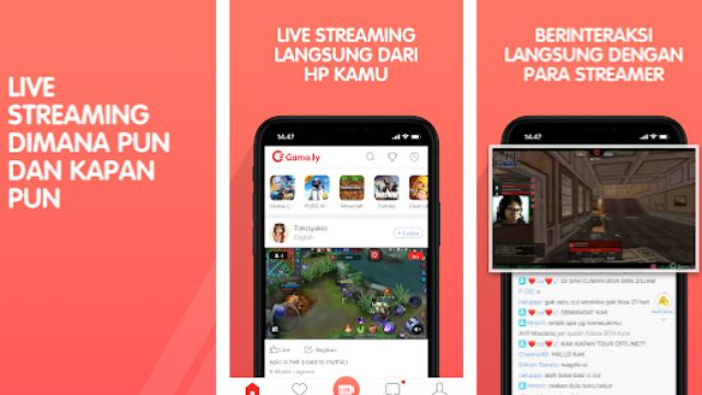 Aplikasi live streaming game android terbaik