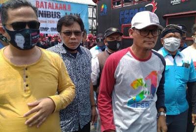 Buruh Tuntut DPR Gelar Paripurna Legislative Review UU Ciptaker