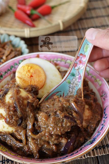 egg sambal telur