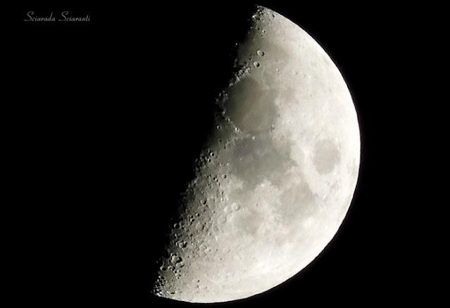 Luna crescente del 23 ottobre 2020