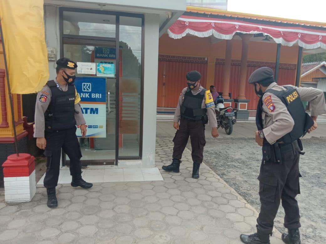 Cegah Kriminalitas, Polsek Pangkalan Lada Tingkatkan Patroli