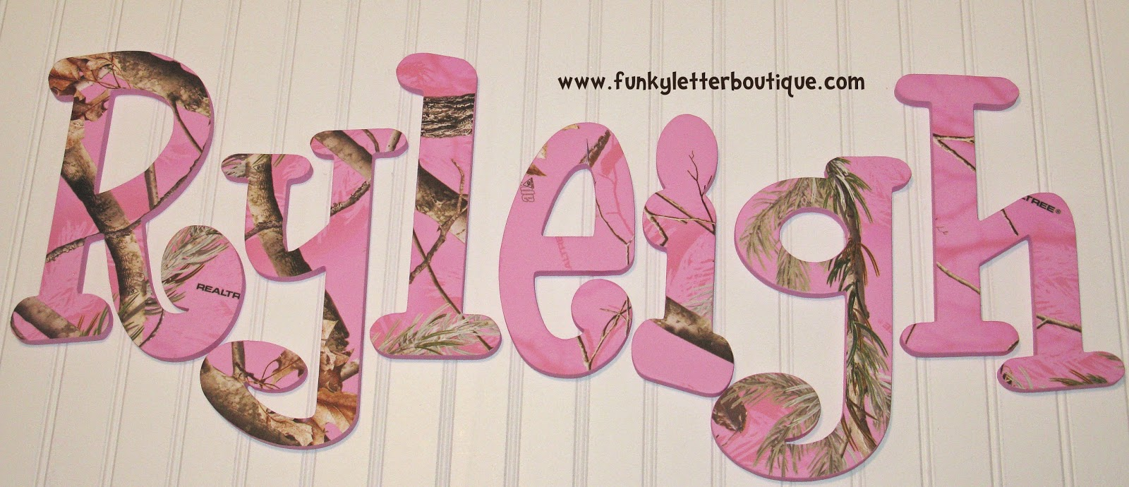 The Funky Letter Boutique How To Create An Adorable Pink