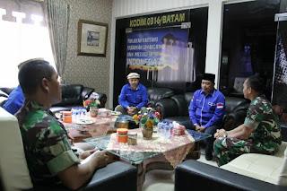 Dandim 0316/Batam Terima Audensi Forum Pembaharuan Kebangsaan (FPK) Kota Batam.
