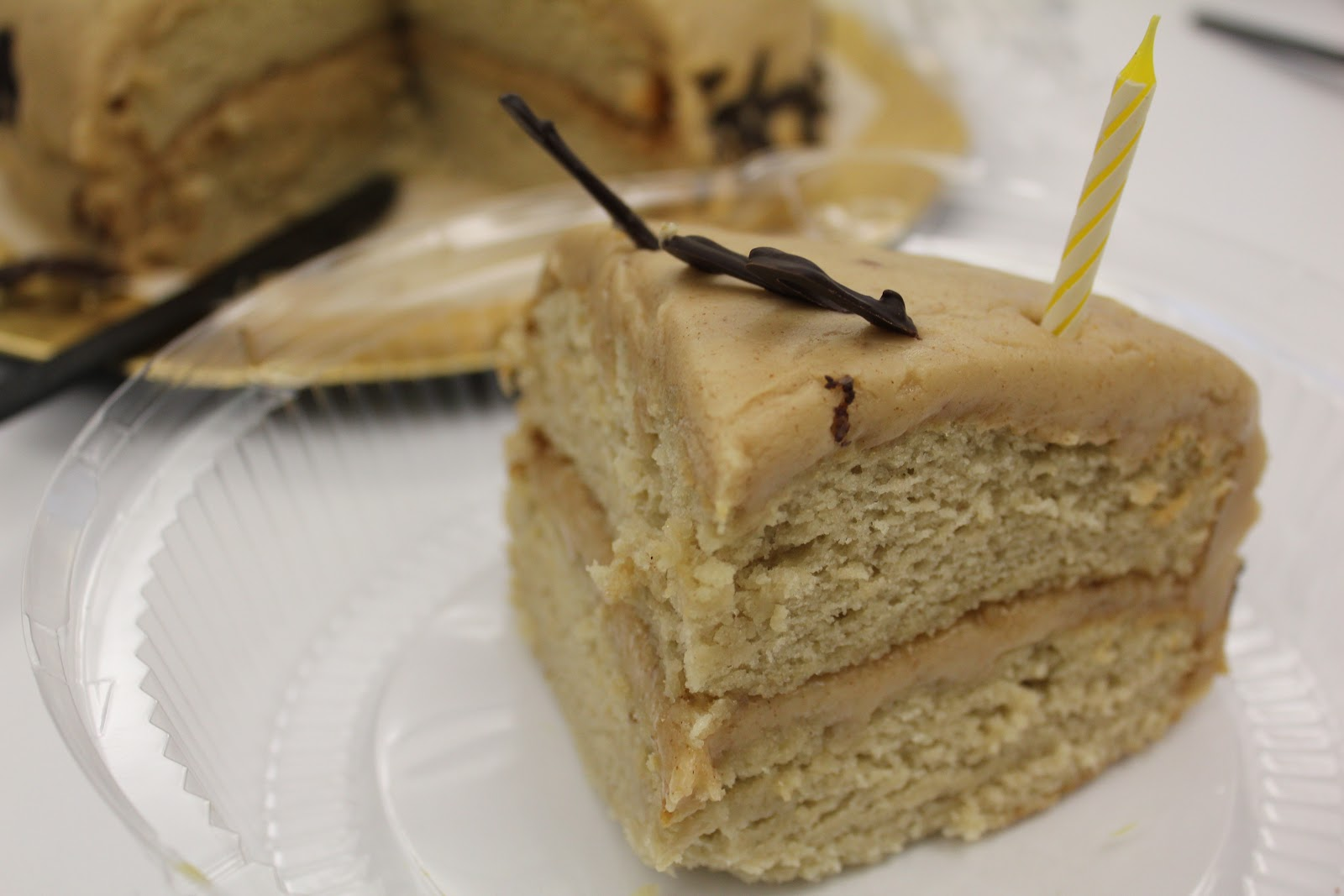 Banana Cake With Almond Butter Frosting