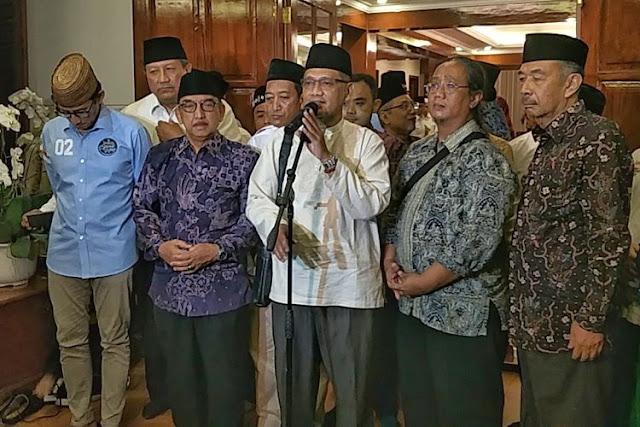 Bertemu Prabowo-Sandiaga, Keluarga Pendiri NU Nyatakan Dukungan