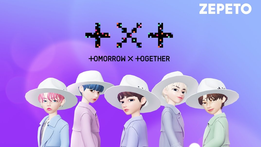 TXT Present Fans with The Character of 'ZEPETO'