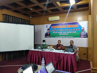 Menuju Fakultas Excellent Nan Sholeh, FTIK IAIN Batusangkar Susun Renstra 2020-2024