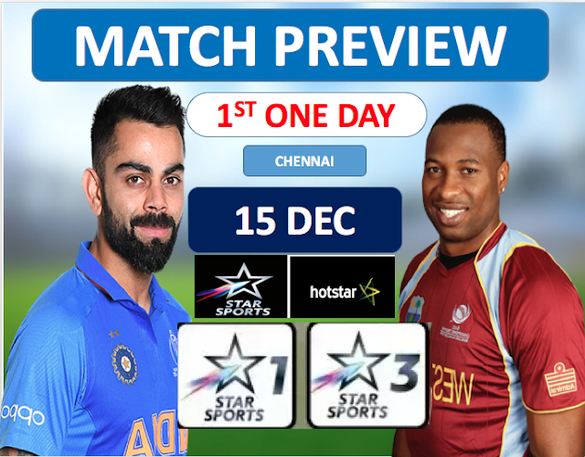 Who will win India vs West Indies, 1st ODI 2019? Match Preview and Prediction