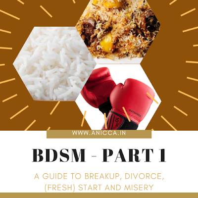 A guide to Breakup, Divorce, (fresh) Start and Misery