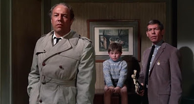 Charade - James Coburn and George Kennedy