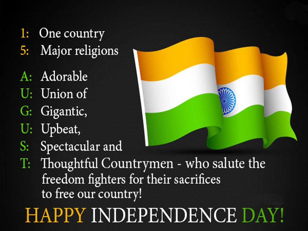 Happy independence day sms wishes images quotes in hindi english independence day sms images kristyandbryce Gallery