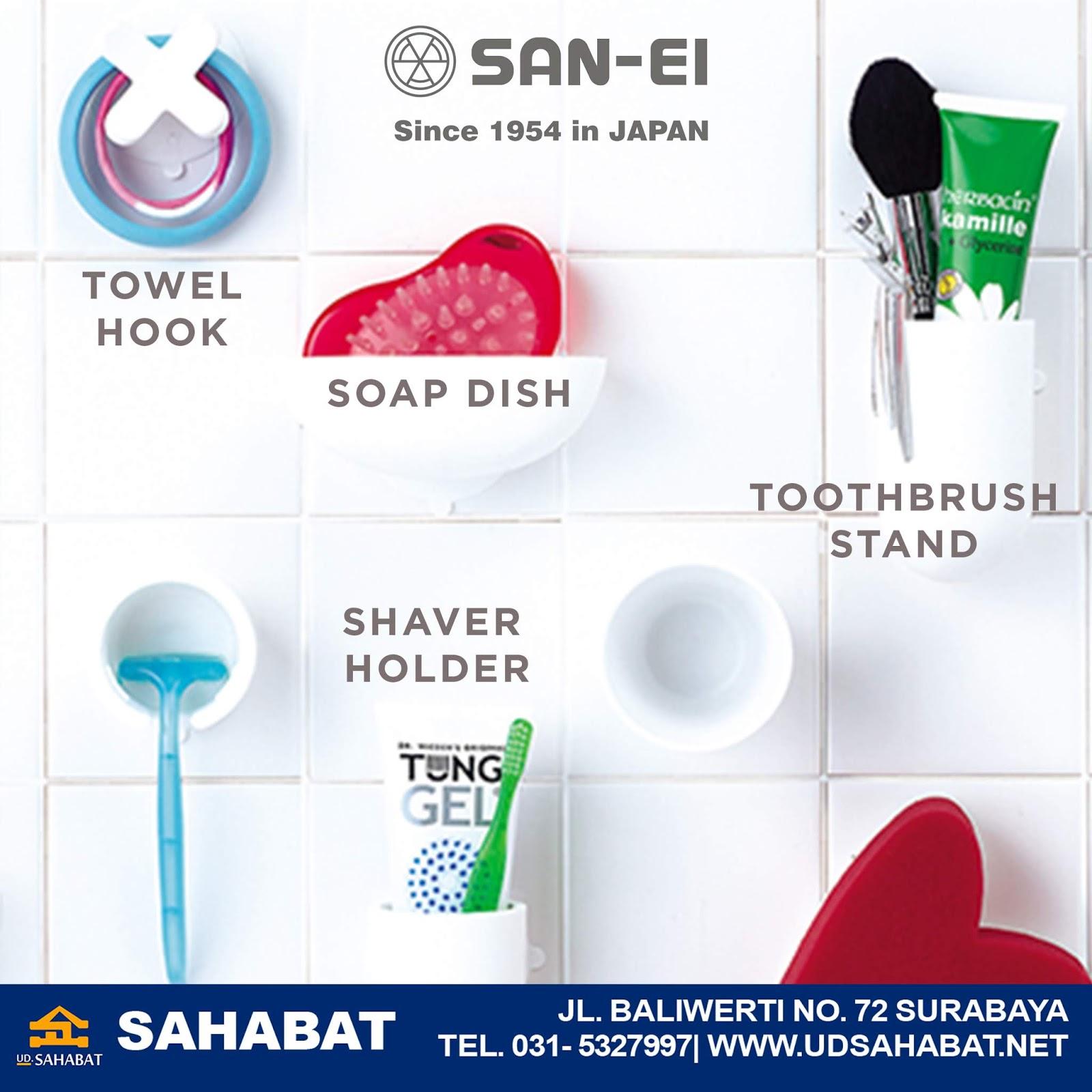 jual gantungan kamar mandi handuk SAN-EI surabaya