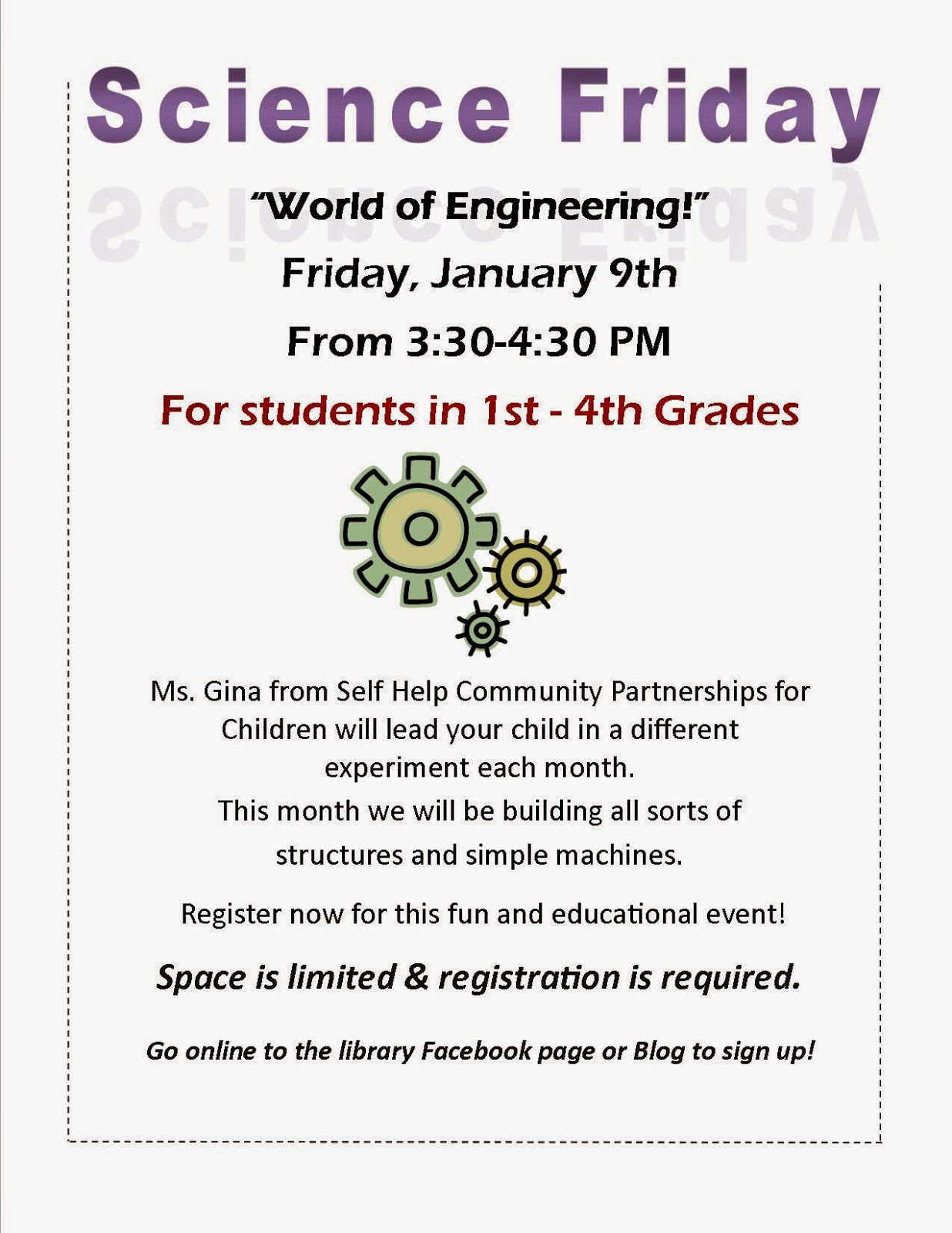 "science Friday  - ""world of engineering"""