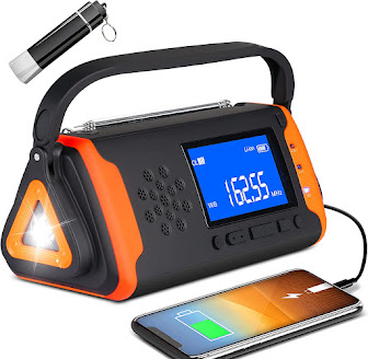 Multi Feature Portable Severe Weather Alert Radio