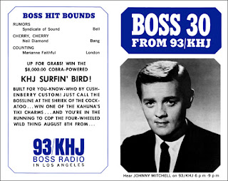 KHJ Boss 30 No. 56 - Johnny Mitchell