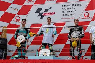 MOTO 3 - El italiano Lorenzo Dalla Porta nuevo campeón del mundo