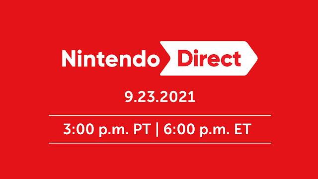 Nintendo Direct é anunciado para o dia 23 de setembro