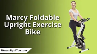 Marcy Foldable Upright Exercise Bike