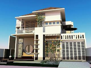 lantai telah menjadi tren desain rumah ketika ini desain rumah minimalis 2 lantai