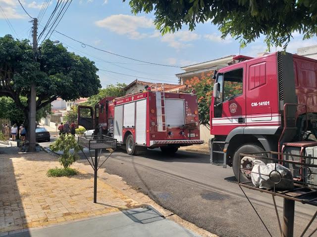 Homem morre durante incêndio em casa na Vila Boa Vista em Presidente Prudente