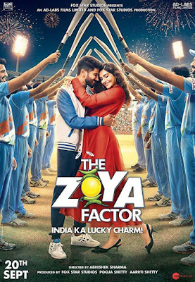 Poster The Zoya Factor 2019 Hindi HD 720p