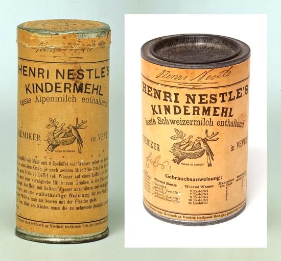 Nestlé tins 1875 - 1890