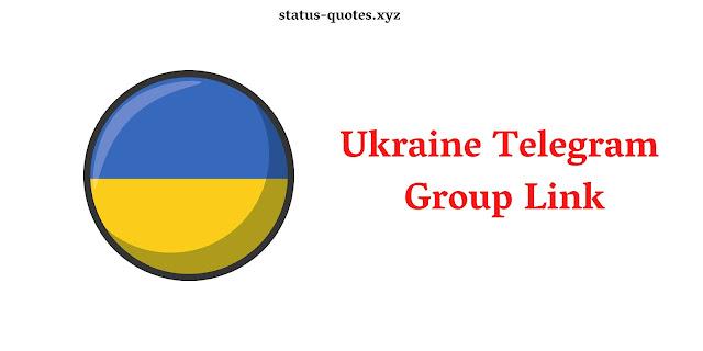Ukraine Telegram Group Link