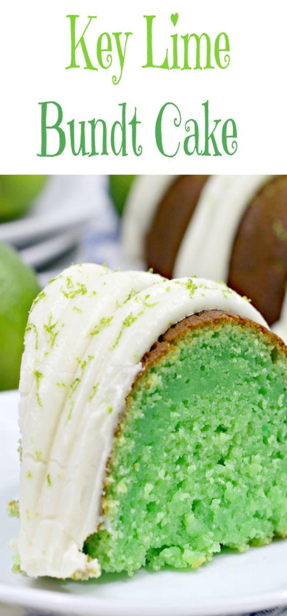 Key Lime Bundt Cake - Jump to Recipe Print RecipeI love anything lime, then you add the cream cheese frosting and it's something about the tart and the sweet that gets me everytime. Bundt cakes are so easy to make, not to mention pretty. I love all the bundt pans they have now. This cake is super easy to make,…
