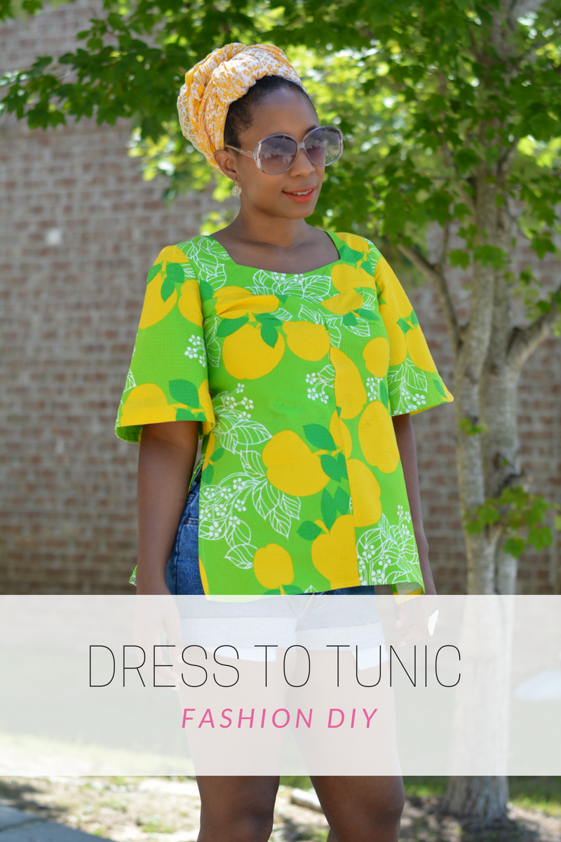 dress to tunic