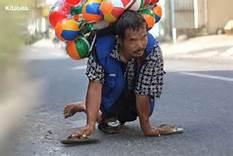 Kisah Pak Setu, Penjual Balon; Di Balik Keterbatasan Fisik Terungkap Kemampuan dan Anugerah
